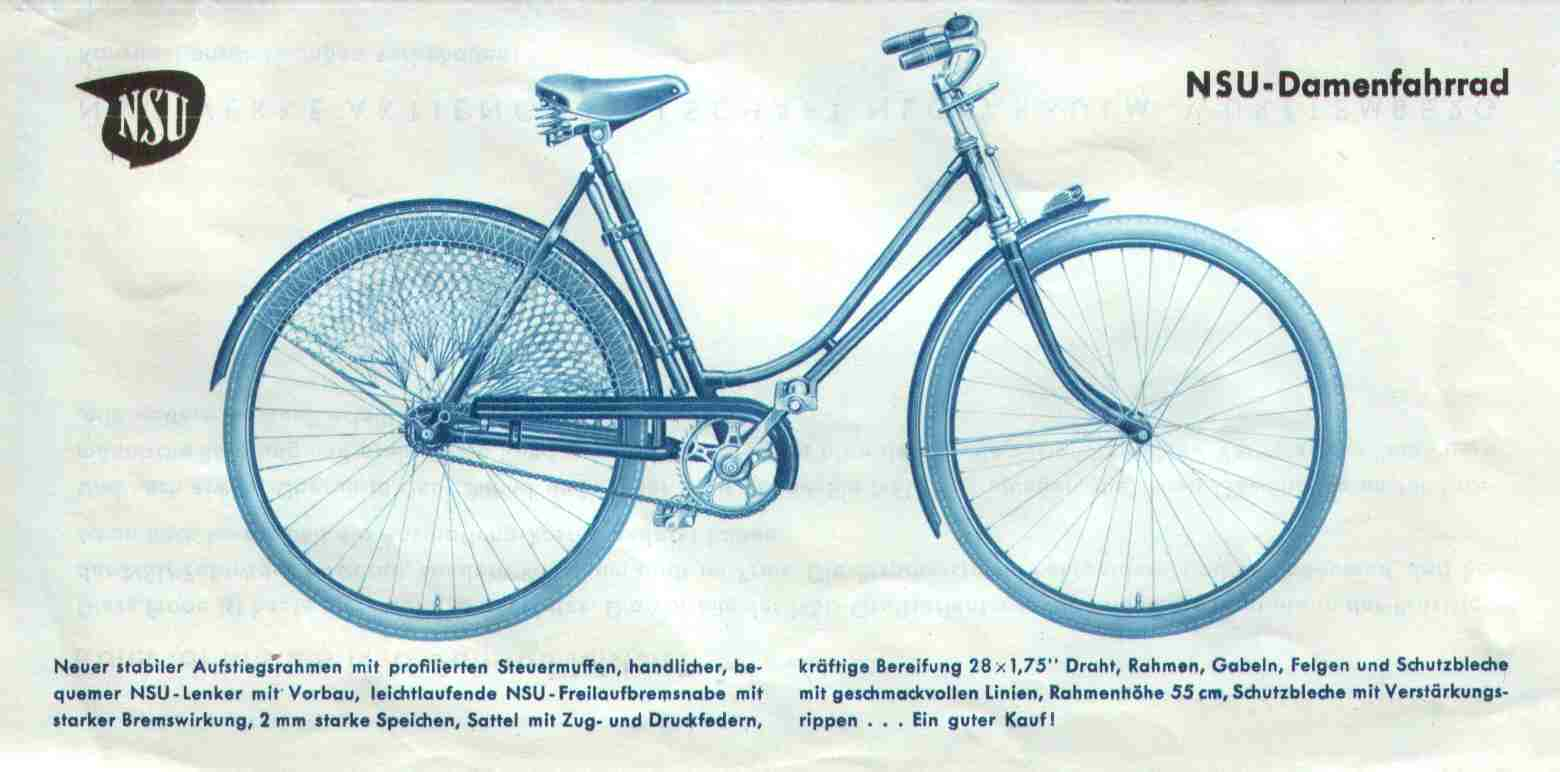 Nsu Oldtimer Fahrräder Bei Wwwnsu24de